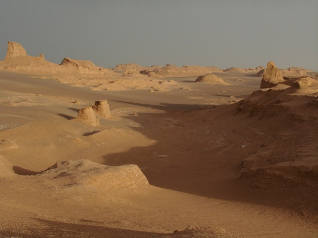 The Iranian desert, surely awaiting an appearance in the next Star Wars film