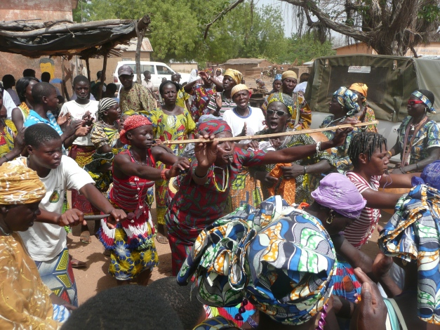 The women of Boukoumbe like to move it move it.