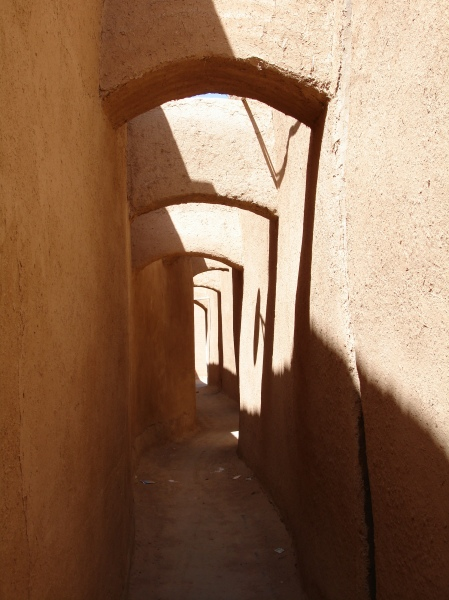 The alley ways of Yazd