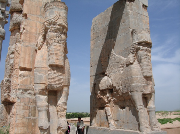 Guardians to the gates of Persepolis