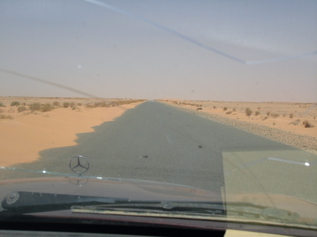 Go anywhere in Mauritania and this will be the view