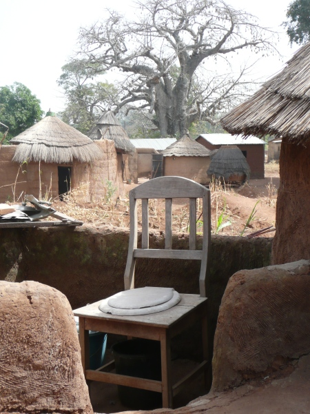 The best toilet ever - with a view of Baobab trees