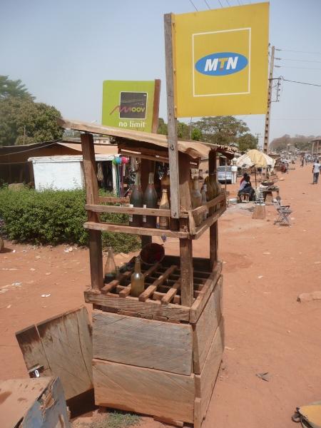 Petrol station - Cote d'Ivoire style