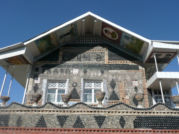 "Moderately interesting ""bottle house"" in Ganja"