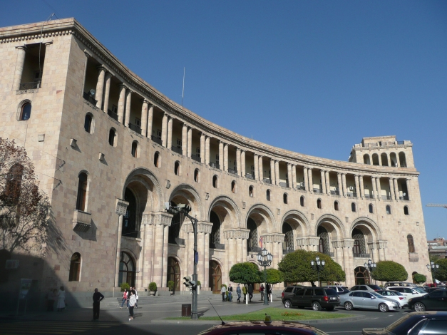 They may not be remarkable architecturally but Yerevan's communist buildings are not unremittingly grim, grey monstrosities.