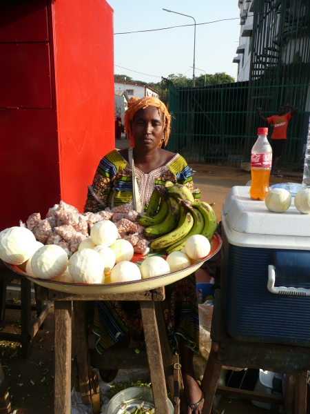 Just one of the usual multitude of street vendors, despite buying water from her every day for a week she still wanted money to take a photo, but taking pics in public without permission can get a very negative reaction