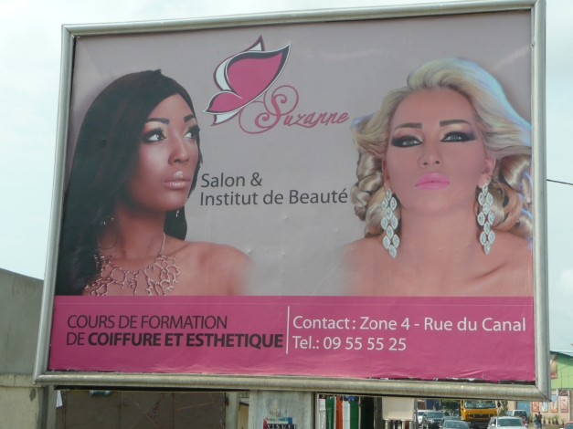 """Ashamed of being African"" ? ""Then why not try our beauty treatments"""