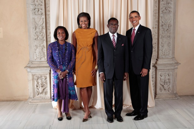 Teodoro Obiang's reputation for being Africa's worst dictator means there is a steady queue of world leaders at your door looking for photo ops