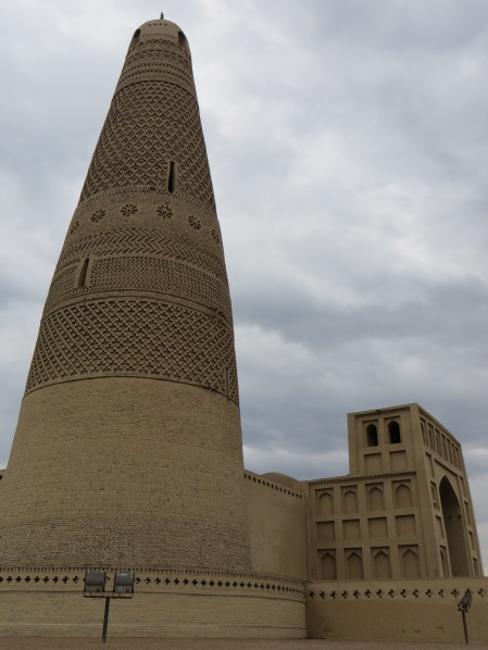 Emin minaret near Turpan - named after Emin Khoja who unlike most Uighur rulers signed a treaty with the Qing dynasty and so, unlike the others is allowed a place in history