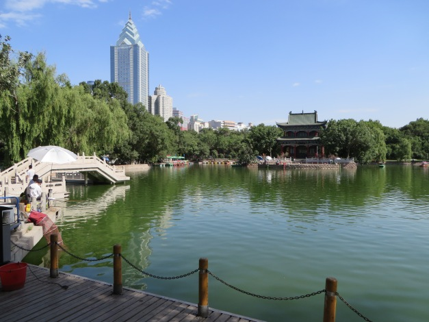 People's park Urumqi, home to top carp fishing action