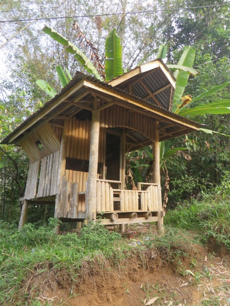 Jungle lodge style in bamboo
