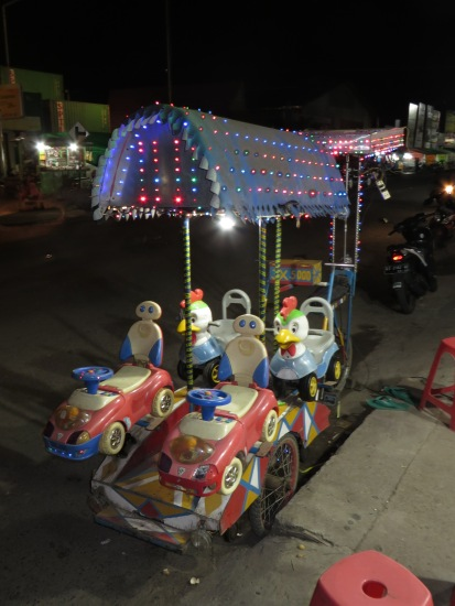 Totally human powered entertainment