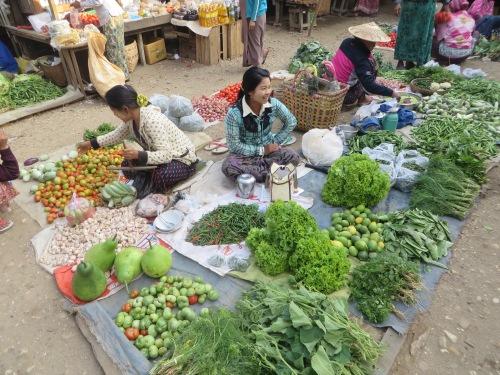 Hard sell at the market