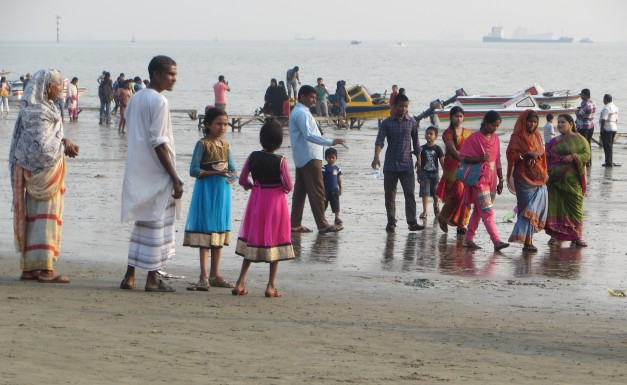 Speedboats, saris and sand, with a bit of mud for good measure