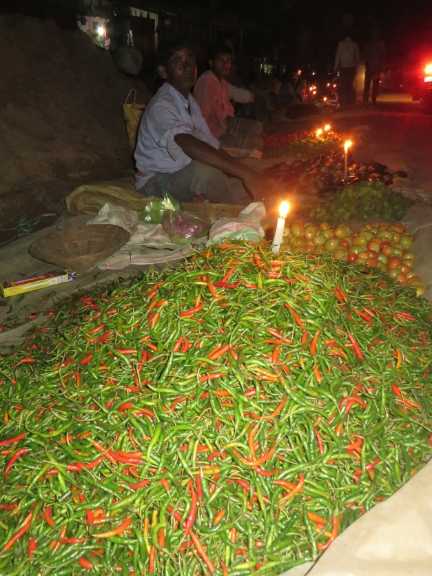 Ever essential chillies at the night market