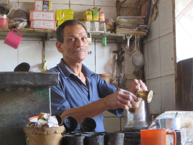 Coffee meister at Ahmed's