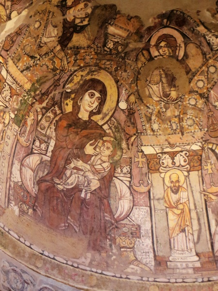 In the unlikely event any of you are interested in Medieval frescos