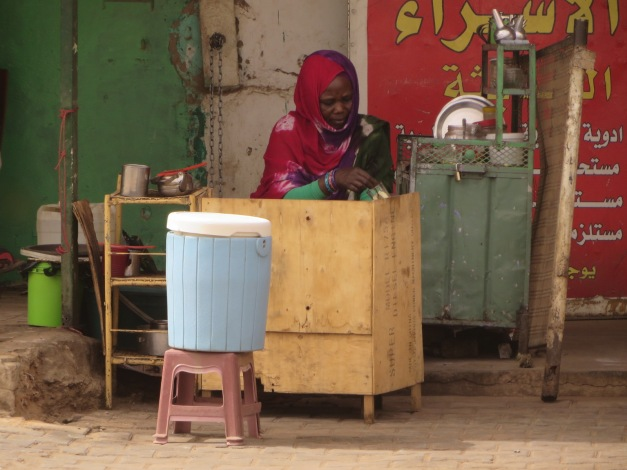 tea lady in Atbara