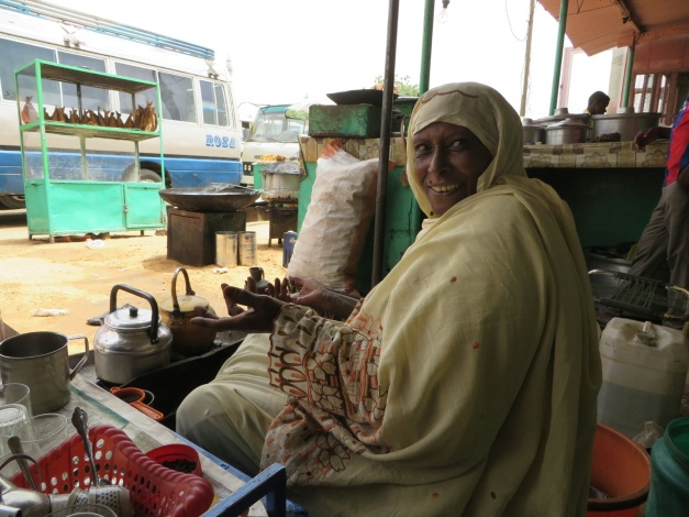 The wonderful Nafeeza in Al Obaid, the personification of Sudanese hospitality