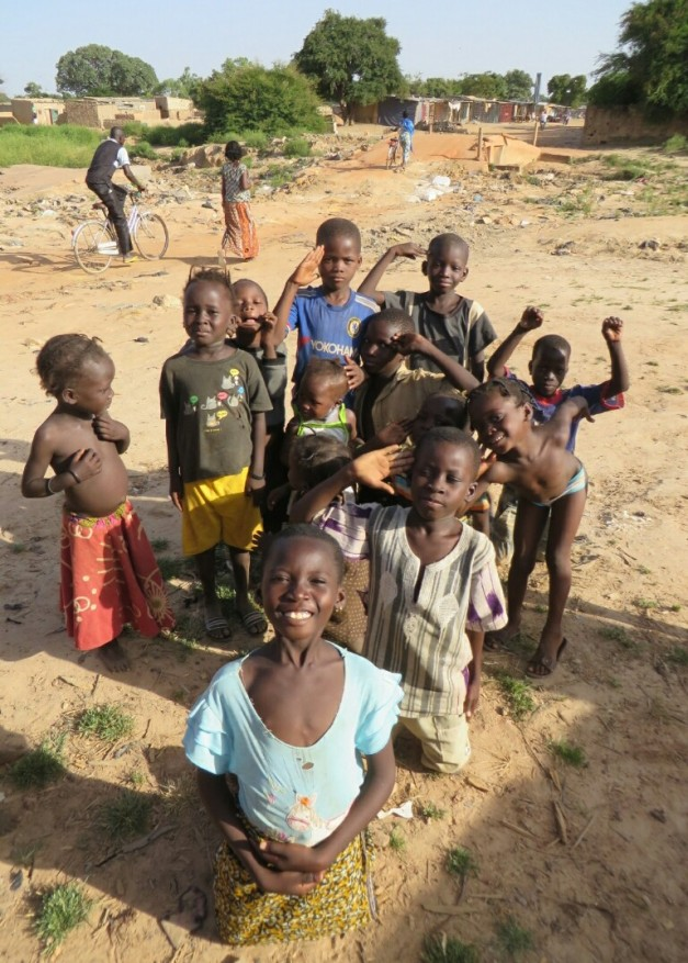 These kids in Burkina Faso, who are lucky if they even own a pen and notebook for school are a fine example of demonstrating the lesson that you don't need the latest iphone to be happy in life