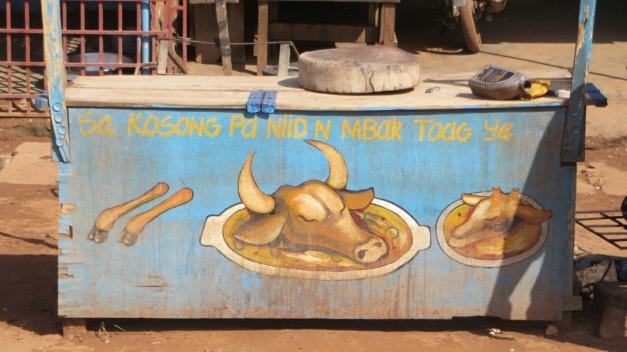Yum! Cow's head, my favourite.