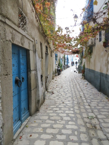 If you like narrow streets, the medinas of Tunisia are the place for you
