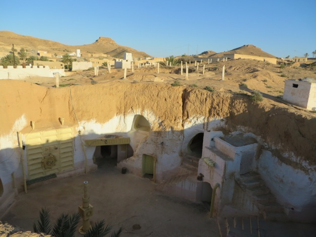One of the many Star Wars filming locations - a converted traditional underground home in Matmata